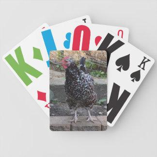 Cubierta de los naipes de la ampliación de foto baraja de cartas