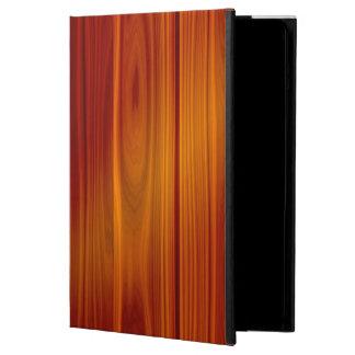 Cubierta de madera de Powis del aire del iPad de
