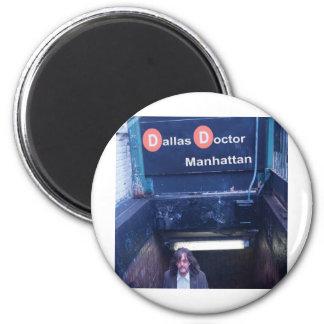 Cubierta de Manhattan Imán Redondo 5 Cm
