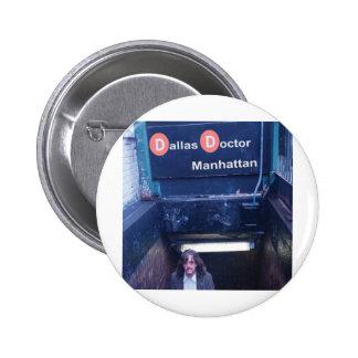 Cubierta de Manhattan Pin Redondo 5 Cm