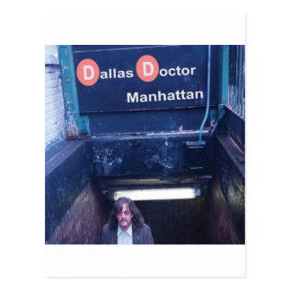 Cubierta de Manhattan Postales