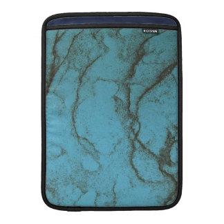 cubierta de mármol azul del macbook fundas MacBook