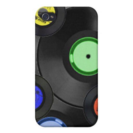 Cubierta de registro del teléfono 4 del diseño I iPhone 4 Funda