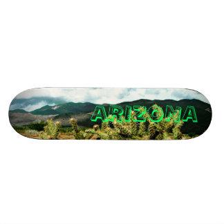 Cubierta de Skateboardk del cactus de Arizona y de Monopatín Personalizado