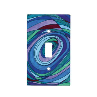 Cubierta de Switchplate de los azules Cubiertas Para Interruptor