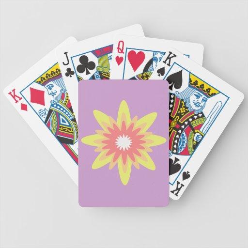 Cubierta de tarjetas baraja