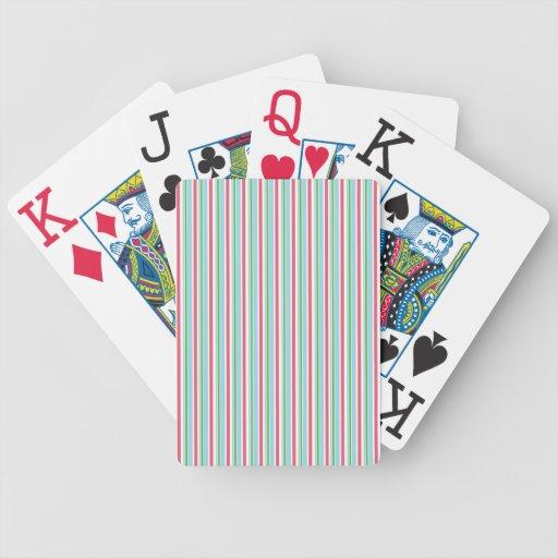 Cubierta de tarjetas barajas