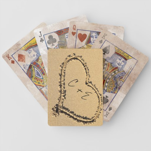 Cubierta de tarjetas barajas de cartas