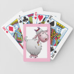 Cubierta de tarjetas, dibujo animado lindo de la c baraja