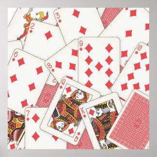 Cubierta de tarjetas posters