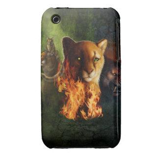 Cubierta de tierra del iPhone 3/3s del clan iPhone 3 Case-Mate Protector
