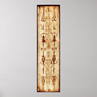 Cubierta de Turín, Jesucristo AUMENTADO, lleno de  Posters