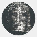 Cubierta de Turín, negativa Pegatina Redonda