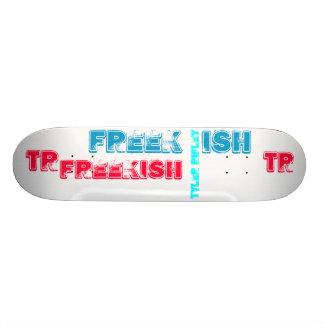Cubierta de Tyler Rifley FREEK ISH/colorido Patineta Personalizada