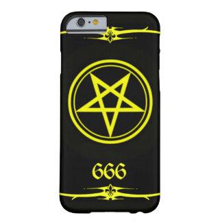 Cubierta de uno de los reyes magos 666 de funda para iPhone 6 barely there