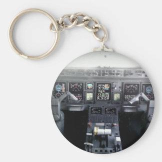 Cubierta de vuelo de Embraer 145 Llavero Redondo Tipo Pin