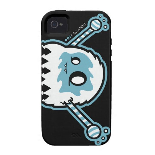 Cubierta de Yeti Iphone 4/4s por el parque zoológi iPhone 4/4S Carcasas