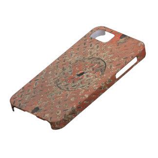 Cubierta del agujero del hombre rojo funda para iPhone SE/5/5s
