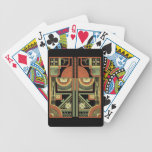 Cubierta del art déco cartas de juego