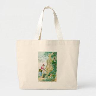 Cubierta del calendario 1888 de las señoras del vi bolsas de mano