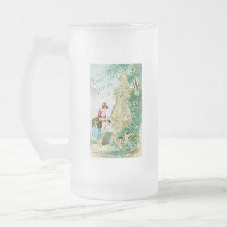 Cubierta del calendario 1888 de las señoras del vi taza de café
