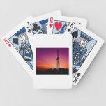 Cubierta del CAMPO PETROLÍFERO de tarjetas Cartas De Juego