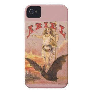 Cubierta del caso de Ariel Blackberry iPhone 4 Funda
