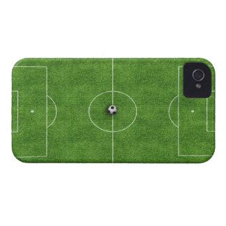 Cubierta del caso del campo de fútbol Case-Mate iPhone 4 fundas