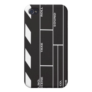 Cubierta del caso del iPhone 4/4S de Clapperboard  iPhone 4/4S Carcasas