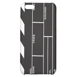 Cubierta del caso del iPhone 4/4S de Clapperboard