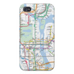 Cubierta del caso del iPhone 4/4s del mapa de la c iPhone 4 Cárcasa
