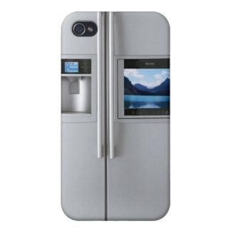 Cubierta del caso del iPhone 4/4s del refrigerador iPhone 4/4S Funda