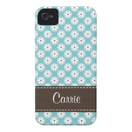 Cubierta del caso del iPhone 4 de la margarita del iPhone 4 Case-Mate Funda
