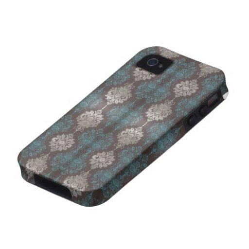 Cubierta del caso del iPhone 4 del papel pintado d Case-Mate iPhone 4 Carcasa