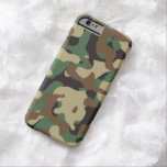 Cubierta del caso del iPhone 6 de Camo del modelo Funda De iPhone 6 Barely There