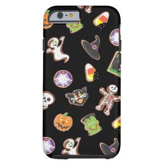 Cubierta del caso del iPhone 6 de los iconos de