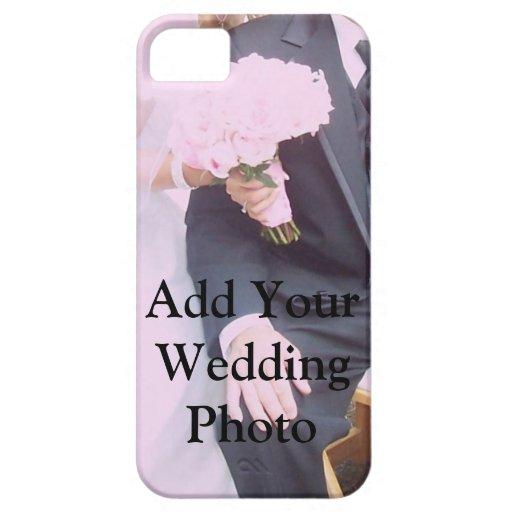 Cubierta del caso del iPhone del boda iPhone 5 Case-Mate Cárcasas