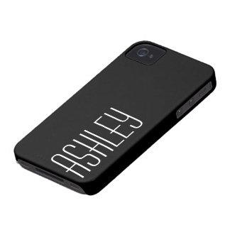 Cubierta del color sólido con el área a personaliz Case-Mate iPhone 4 protector