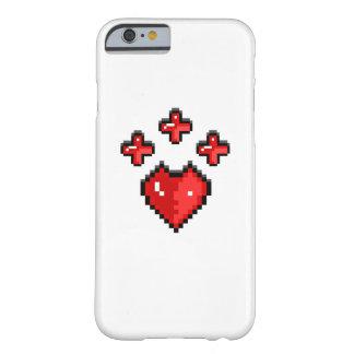 Cubierta del corazón funda para iPhone 6 barely there