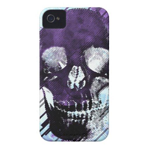 Cubierta del cráneo iPhone 4 carcasas