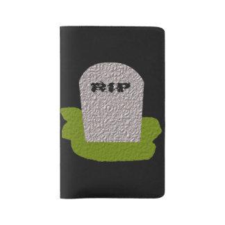 Cubierta del cuaderno de la piedra sepulcral del