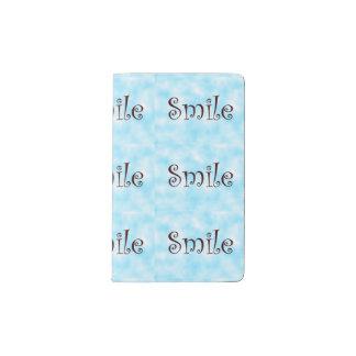 Cubierta del cuaderno de la Sonrisa-moleskine