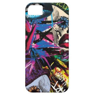 Cubierta del estallido de Art Vandalism iPhone 5 Case-Mate Carcasa