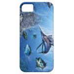 Cubierta del frenesí iphone5 del pez volador iPhone 5 Case-Mate cárcasas