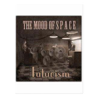 Cubierta del futurismo tarjetas postales