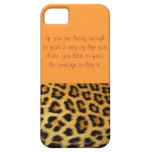 cubierta del guepardo del iphone 5 iPhone 5 carcasas