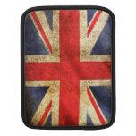 Cubierta del iPad de la bandera de Reino Unido/de  Fundas Para iPads