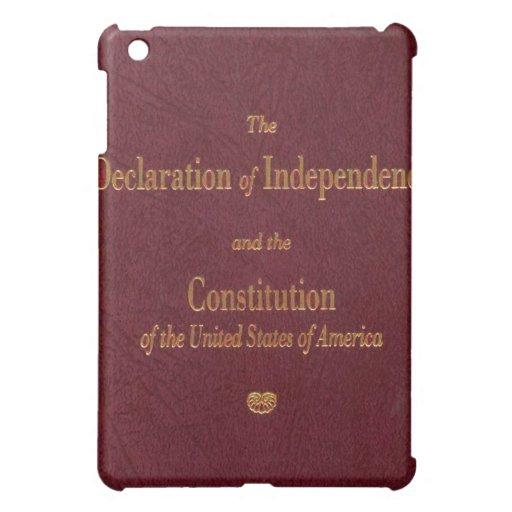 Cubierta del iPad de la constitución de los E.E.U.