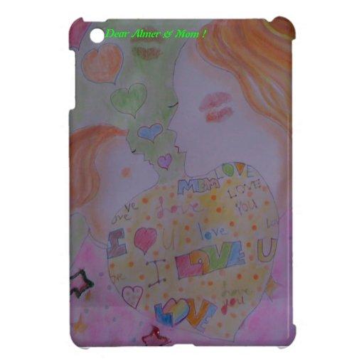 Cubierta del ipad de la mamá de Almer& mini iPad Mini Cobertura