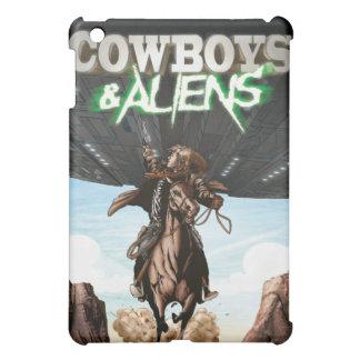 Cubierta del iPad de los vaqueros y de los extranj